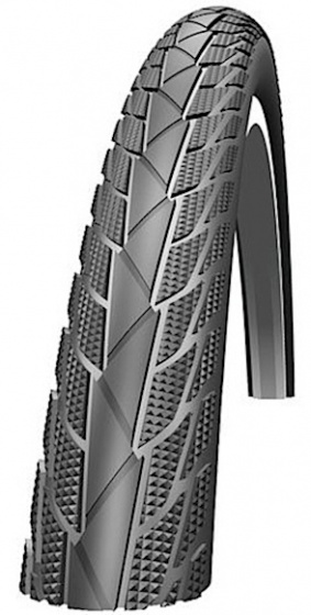 Impac buitenband Streetpac 28 x 1.60 (42 622) zwart