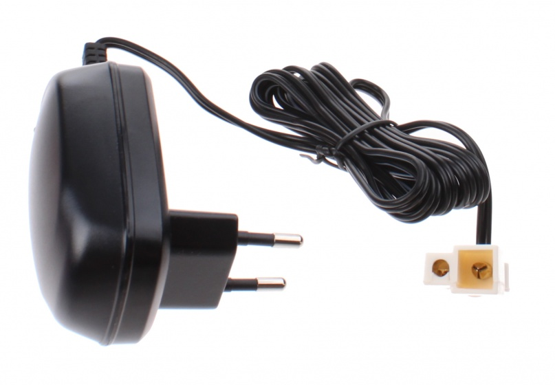 Injusa batterijlader CE 6V 0,6A zwart