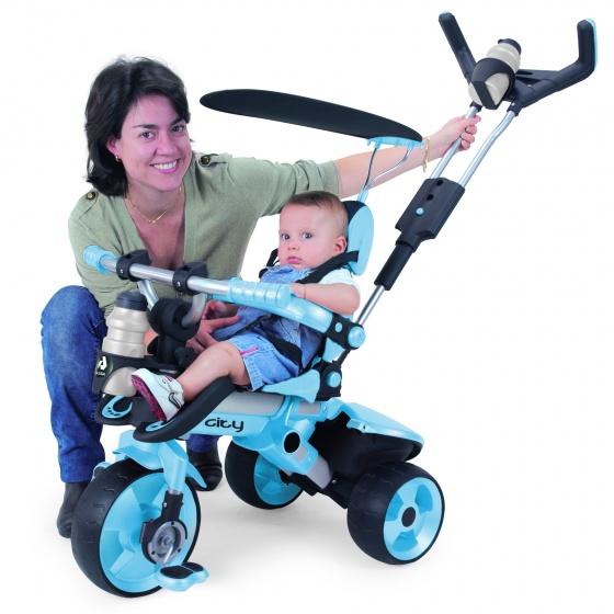 Injusa City Trike Junior Blauw