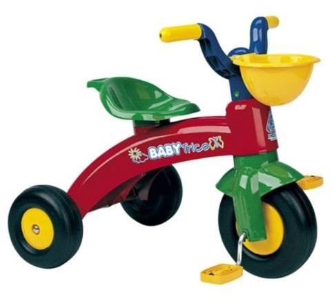 Injusa - Driewieler Baby Trike Junior Rood