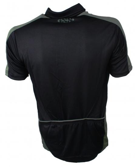 IXS Fietsshirt Cusco Basic Comp heren zwart maat M