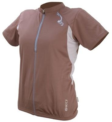 IXS Fietsshirt Aurora Basic dames bruin maat L