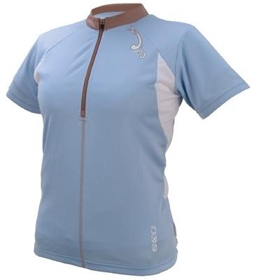 IXS Fietsshirt Aurora Basic dames lichtblauw maat XS