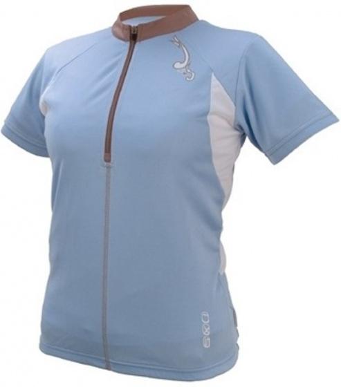 IXS Fietsshirt Aurora Basic dames lichtblauw maat XXL