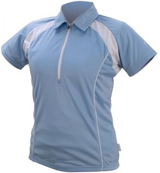 IXS Fietsshirt Tela Basic Pro dames lichtblauw maat XS