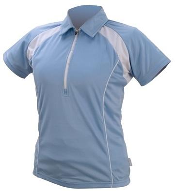 IXS Fietsshirt Tela Basic Pro dames lichtblauw maat XXL