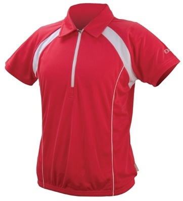 IXS Fietsshirt Tela Basic Pro dames rood maat XS