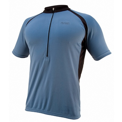 IXS Pasto Basic Pro Shirt Blauw Maat M