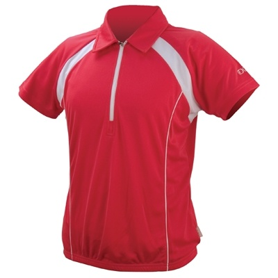 IXS Fietsshirt Tela Basic Pro dames rood maat L