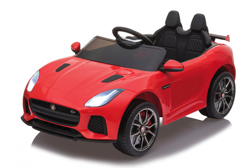 Jamara ride on Jaguar F type SVR Junior Rood