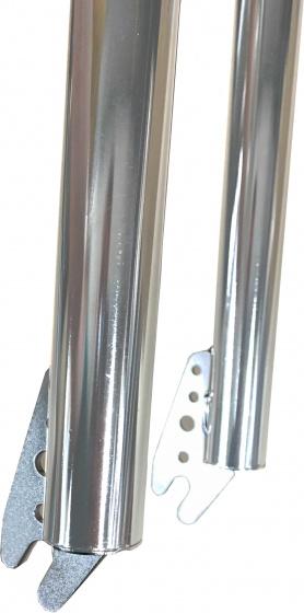 Japs Voorvork Vast 20 Inch BMX 1 Inch Zilver