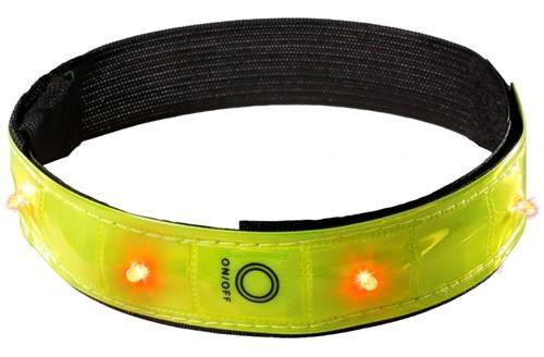 Joggy Safe Veiligheidsarmband LED Geel