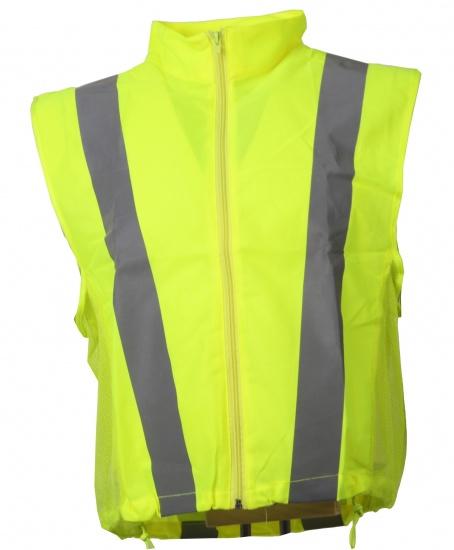 Joggy Safe Veiligheidsbodywarmer Unisex Geel Maat S