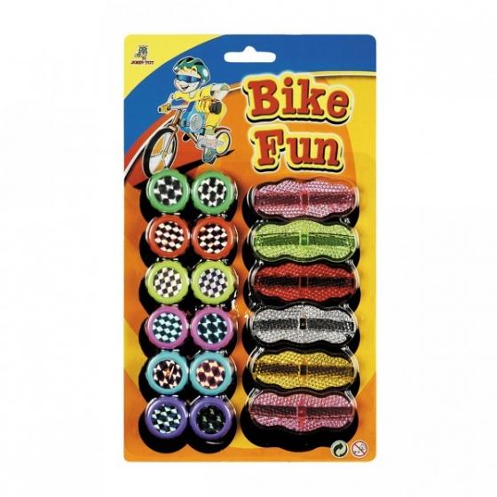 Johntoy spaakflitsers Bike Fun 18 stuks