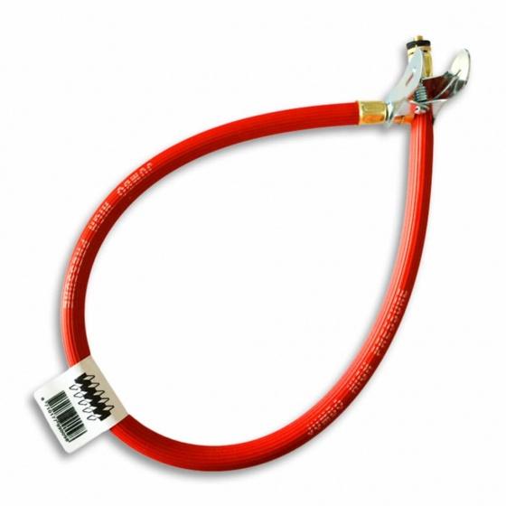 Jumbo pompslang 60 cm rood