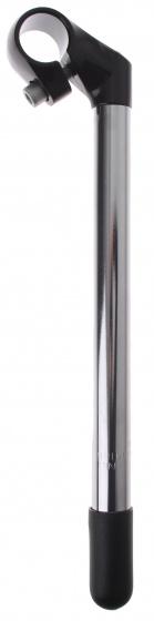 Kalloy stuurpen vast 25,4/280/25,4 mm zilver/zwart