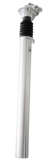Kalloy Zadelpen verend ATB/MTB 26.8 x 350 mm aluminium zilver