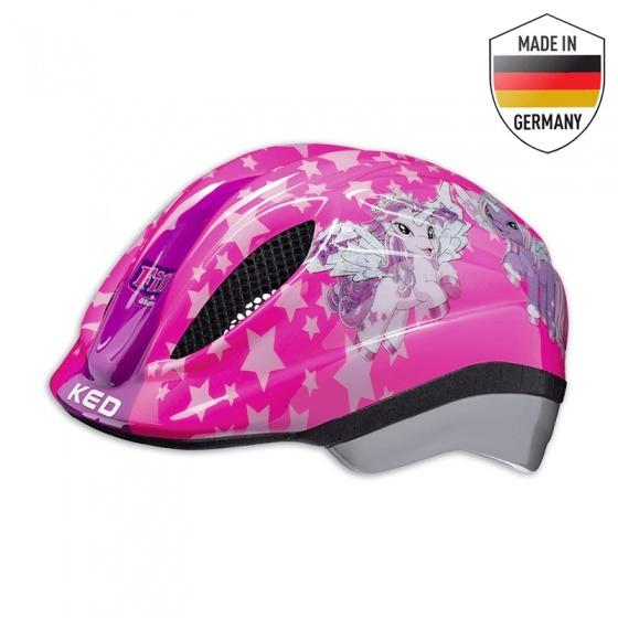 KED fietshelm Meggy II Originals meisjes roze maat 52 58 cm
