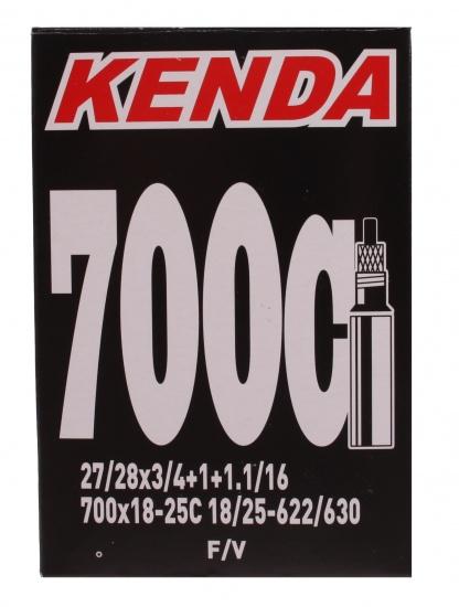 Kenda Binnenband 27/28 X 3/4/1 1/16 (18/25 622/630) FV 32 mm Onderdelen & Accessoires Zwart Binnenbanden 27 Inch Voor 16:00 uur besteld, dezelfde dag verzonden