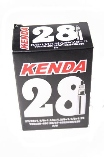 Kenda Binnenband 27/28 X 1 1/8 1.75 (47 622/635) FV 40mm Onderdelen & Accessoires Zwart Binnenbanden 27 Inch Voor 16:00 uur besteld, dezelfde dag verzonden