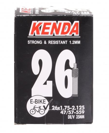 Kenda Binnenband E bikes 26 x 1.75/2.125(47/57 559) DV 35 mm