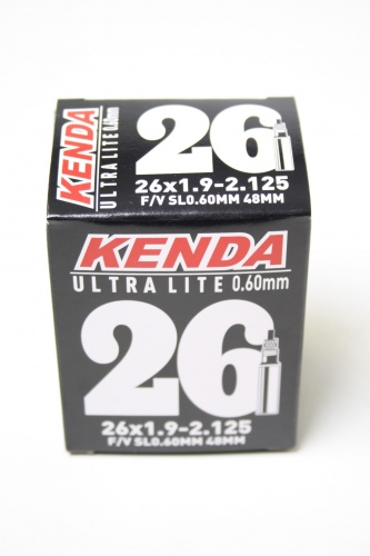 Kenda Binnenband Ultra light 26 x 1.9 2.125 (50/57 559) FV 48 mm