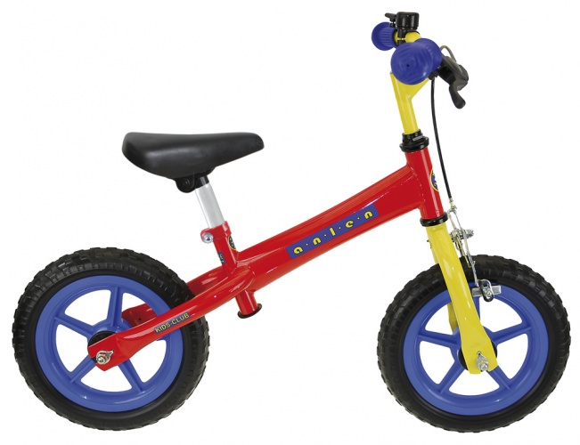 Kids Club Loopfiets 12 Inch Junior V Brake Multicolor
