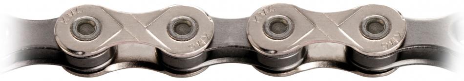KMC Ketting 1/2 X 11/128 X10 Zilver 10SP 114 Schakels