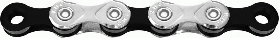KMC ketting X10 93 1/2 x 11/128 inch 114 Schakels 10S zilver/zwart