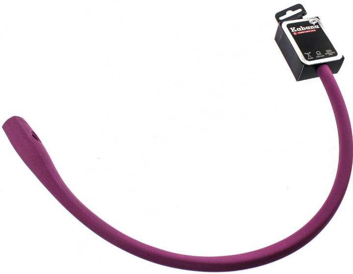 Knog kabelslot Kabana 74 cm siliconen paars