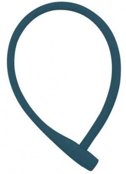 Knog kabelslot Kransky 74 cm siliconen blauw