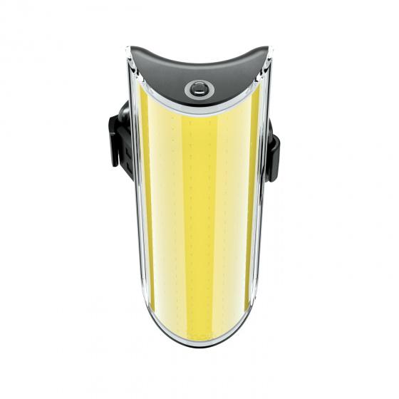 Knog voorlicht Big Cobber oplaadbaar 320 lumen led zwart/geel