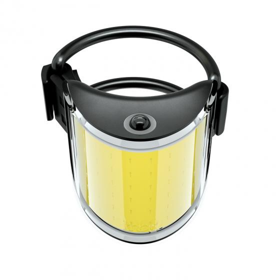 Knog voorlicht Lil' Cobber oplaadbaar 110 lumen led zwart/geel