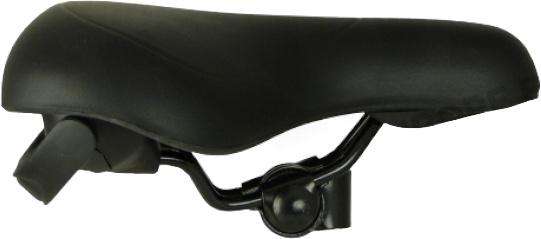 Knus zadel Handlift foam/staal zwart