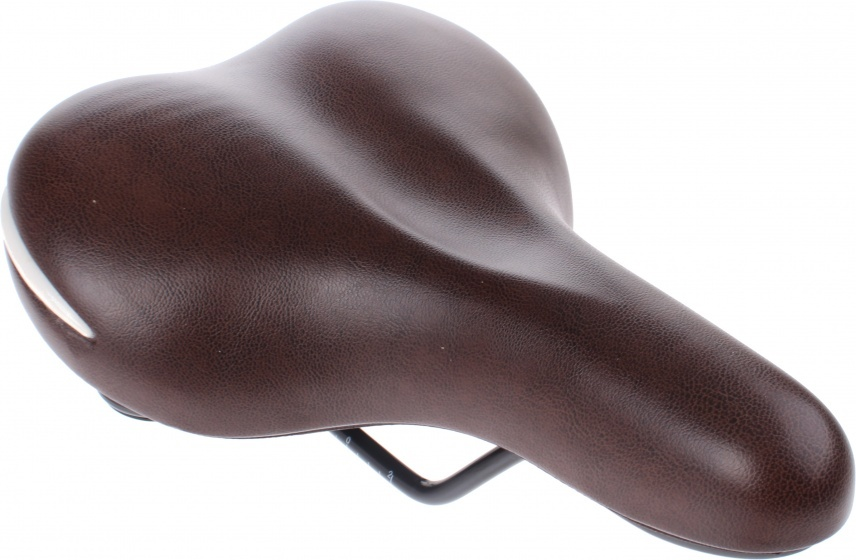 Knus zadel Liberta unisex 25 cm donkerbruin