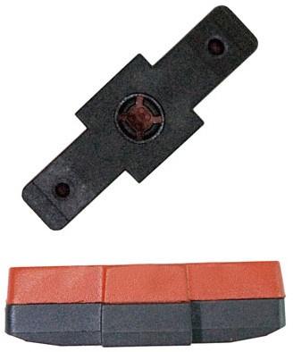 Kool Stop remblokrubbers hydraulisch 50 x 16 mm bruin 2 stuks