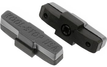 Kool Stop remblokrubbers V brake 50 x 16 mm grijs 2 stuks
