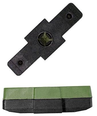 Kool Stop remblokrubbers hydraulisch 50 x 16 mm groen 2 stuks