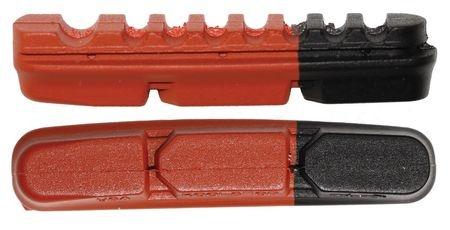 Kool Stop remblokrubbers Dura 2 velgrem 52 x 10 mm br/zw 2 stuks