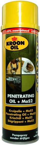 Kroon Oil kruipolie PTO MOS2 spuitbus 300 ml