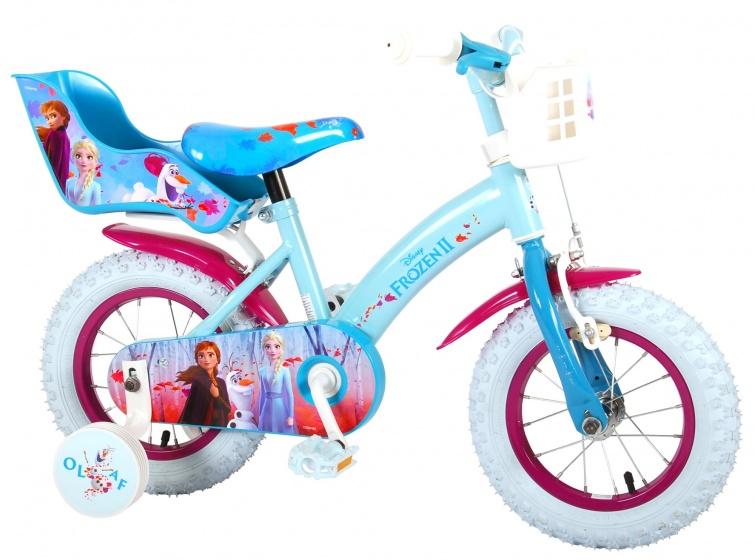 Kubbinga Disney Frozen 12 Inch 21,5 cm Meisjes Knijprem Blauw