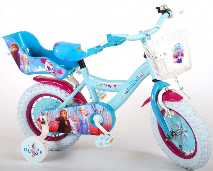 Kubbinga Disney Frozen 12 Inch 21,5 cm Meisjes Terugtraprem Blauw