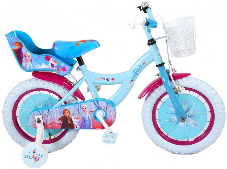 Kubbinga - Disney Frozen 14 Inch 23,5 Cm Meisjes Terugtraprem Blauw