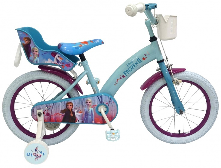 Kubbinga Disney Frozen 16 Inch 25,4 cm Meisjes Knijprem Blauw