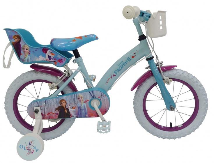 Kubbinga Disney Frozen 2 14 Inch 23,5 cm Meisjes Knijprem Blauw