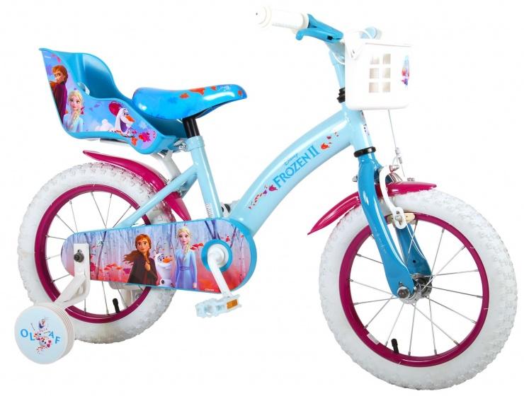 Kubbinga Disney Frozen 2 14 Inch 23,5 cm Meisjes Terugtraprem Blauw