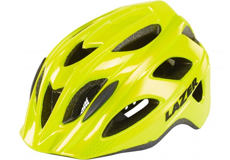 Lazer fietshelm Beam Mips unisex geel/zwart maat 58 61 cm