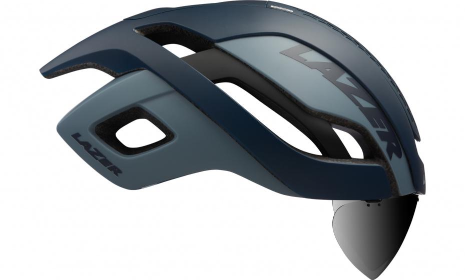 Lazer fietshelm Bullet 2.0 unisex schuim/mesh blauw/grijs maat S