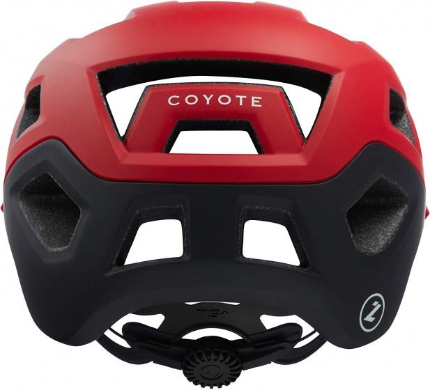 Lazer fietshelm Coyote unisex rood/zwart maat 55 59 cm
