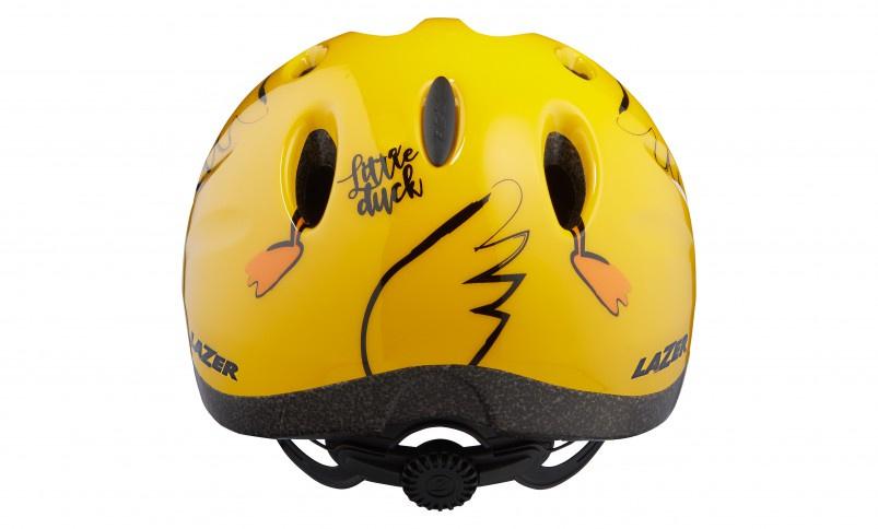 Lazer fietshelm Max+ Little Duck junior 49 56 cm geel